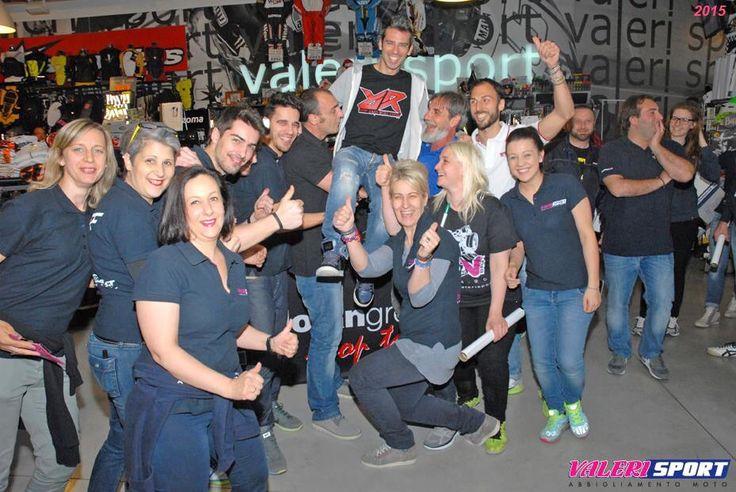 Marco Melandri guest for Nolan Day at Megastore Valerisport!!!