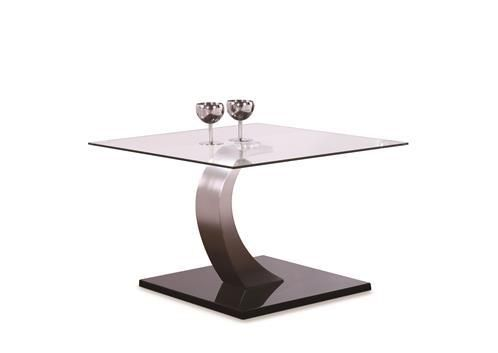 aspire, end table, glass, modern