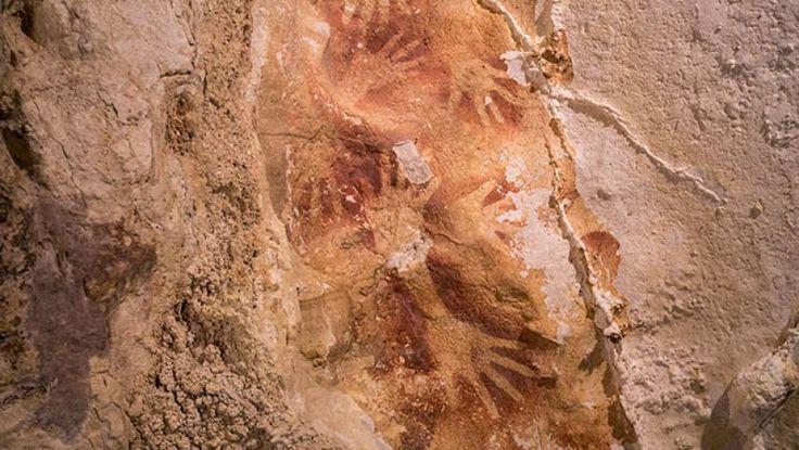 O serie de picturi rupestre vechi de 40.000 de ani rescriu istoria artei   Historia