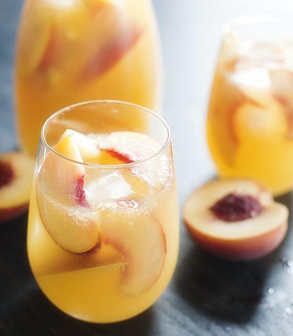 peach sangria | pretty plain janes