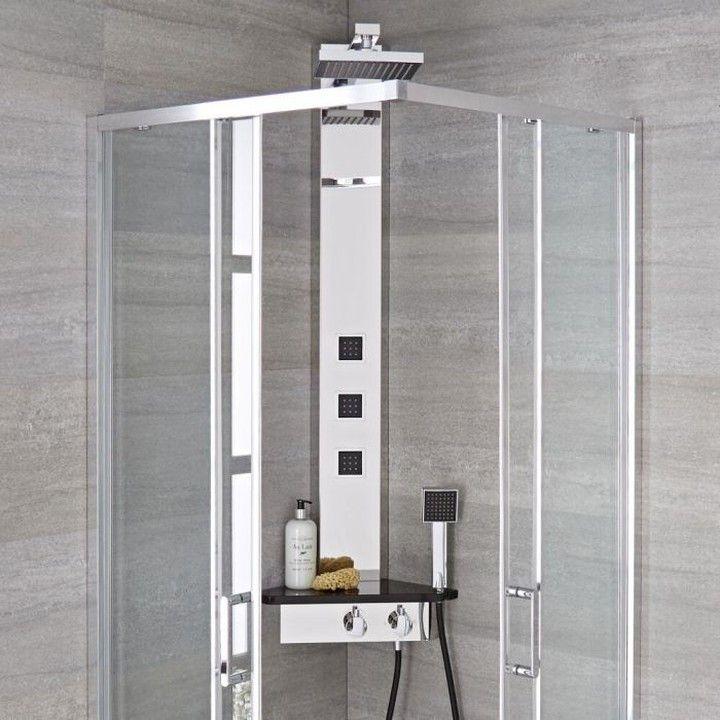 Das Duschpaneel Alcove Bietet So Viel Und Nimmt Gleichzeitig So