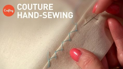 Couture Hand Sewing Stitches (Couture Finishing Techniques) | Tutorial with Alison Smith - https://www.youtube.com/watch?v=Jd0uqFkBr0g