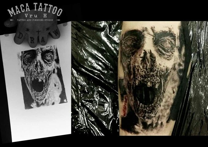 Vru H, Maca Tattoo, Belgium, réalisme tatouage, creepy tattoo, tatouage réaliste, photo réalisme tatouage, portrait tatouage, wavre, brabant wallon, zombie tattoo, tattooist belgium