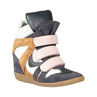 WEDGE HI-TOPS | On trend now and will be for seasons to come. They make every outfit look crazy cool.