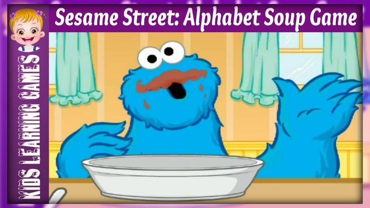 elmo games - sesame street: alphabet soup games