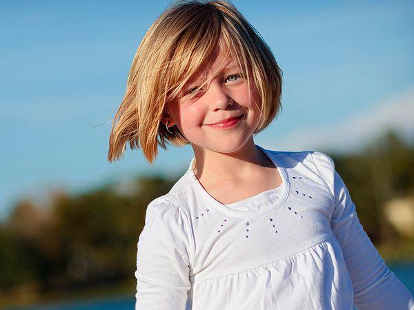 Pix For > Little Girl Short Hair Bangs | Haircuts for ...