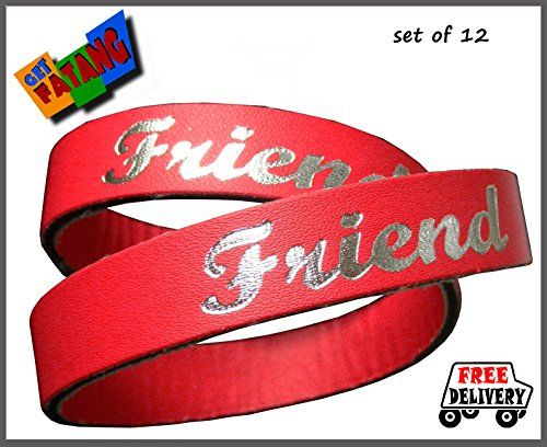 Get Fatang Friendship Day - Double Wrap Friendship Band (Pack of 12 Bands) Get Fatang http://www.amazon.in/dp/B00M41MNH6/ref=cm_sw_r_pi_dp_0yq3tb1G0ER00XFE