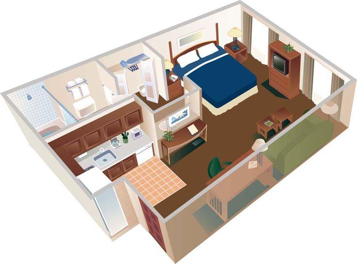 Studio Floor Plans 400 Sq Ft Google Search Tiny Home