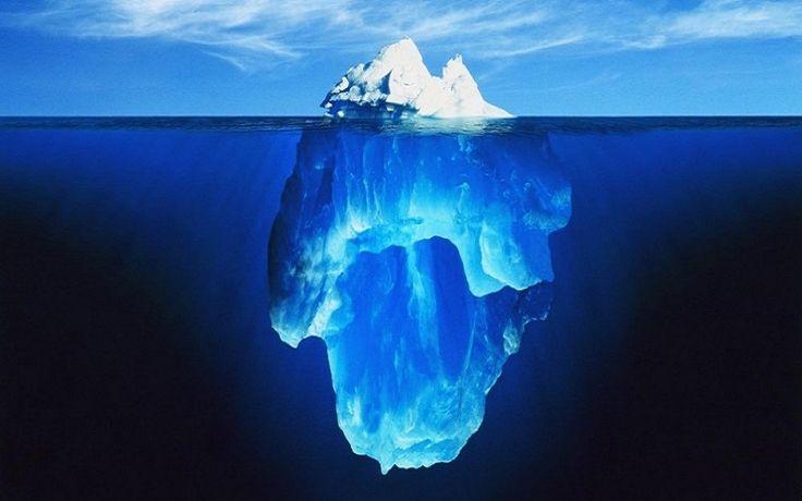Os maiores icebergs que se rompem na Antártida, inesperadamente podem estar ajudando a retardar o aquecimento global quando eles se derretem no frio oceano