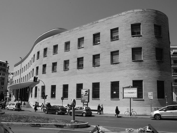 Mario Ridolfi, Post Office building in Piazza Bologna, Rome, 1932