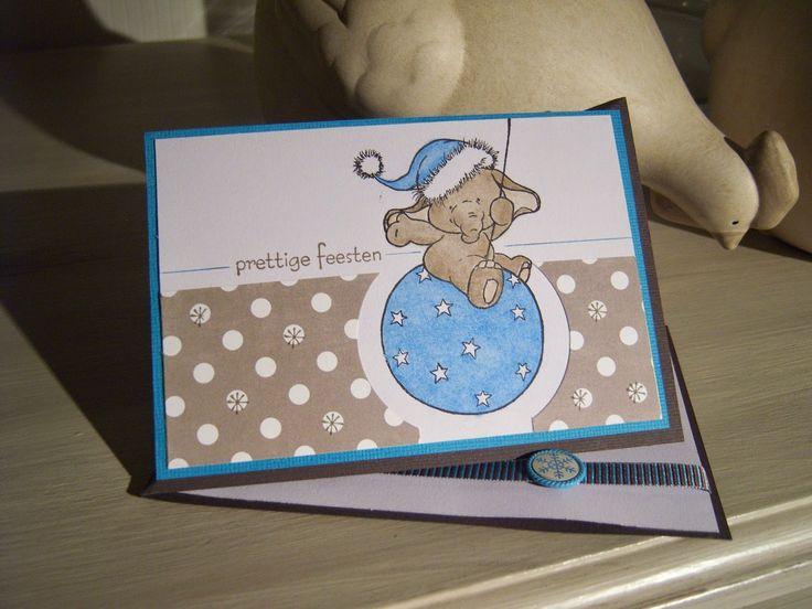 Annie's blog: Kerst in turkoois en bruin
