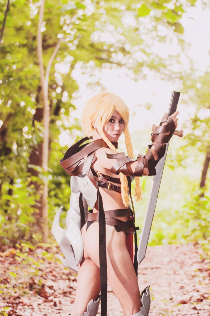 Leina vance queens blade cosplay anime cosplay