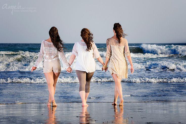 💞Muchas gracias a la gran familia por la sesión de fotos en la playa! Fue mu…