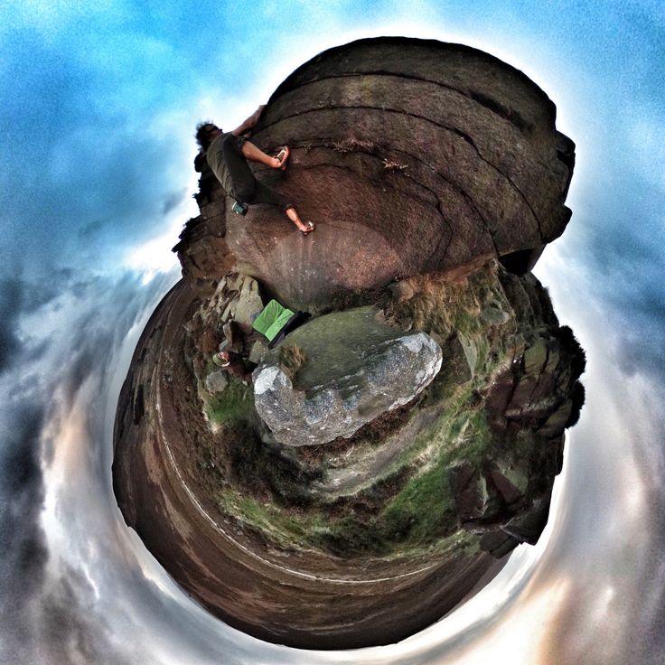 https://flic.kr/p/NCCEWB | Planet Grit | bouldering in the Peak District, UK