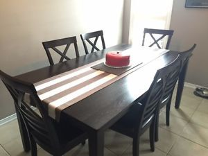 Solid Wood Dining Table City Of Toronto GTA Image 1
