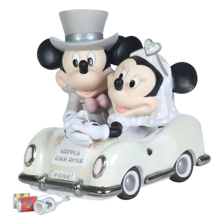 Mickey Mouse Car Cake Topper