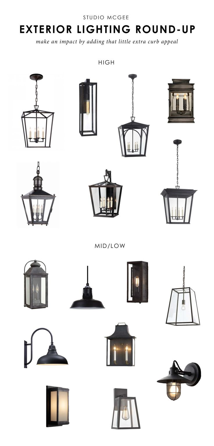 Studio McGee | Our favorite exterior lights