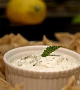 naneli yoğurt sosu tarifi