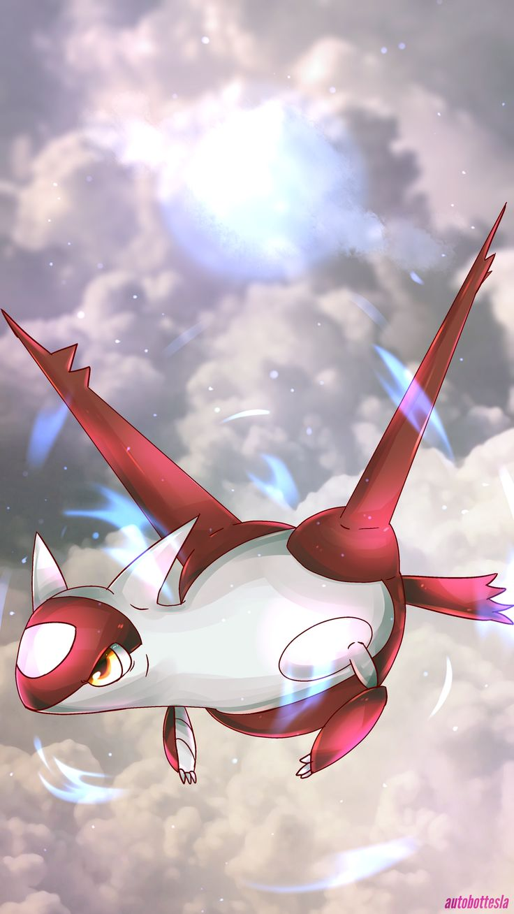 This is my Latias! She is awesome and was given to me by trade, even had the mega stone! She is Level 52 and is working hard so we can go to the Pokemon League AGAIN but with a new group!