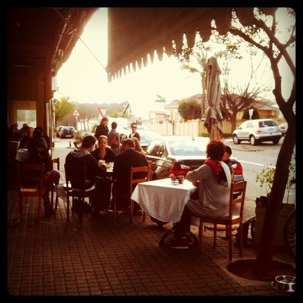 A restaurant called Nice :)   Parkhurst, Johannesburg, South Africa.