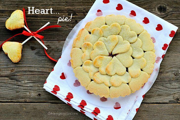 Crostata di cuori, Heart pie
