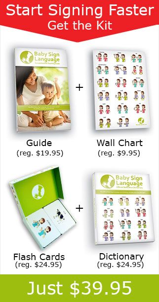Top Ten Starter Signs: Baby Sign Language Dictionary (Videos & Diagrams)
