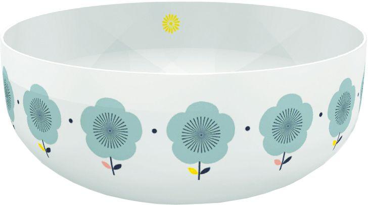 Schaal / Saladier Fleurs bleues