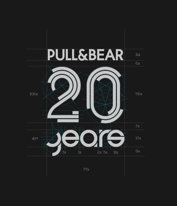 Pull&Bear XX Anniversary on Behance
