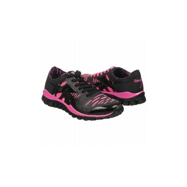 Reebok Women's RealFlex Fusion TR Shoes (Pink Ribbon/Black)