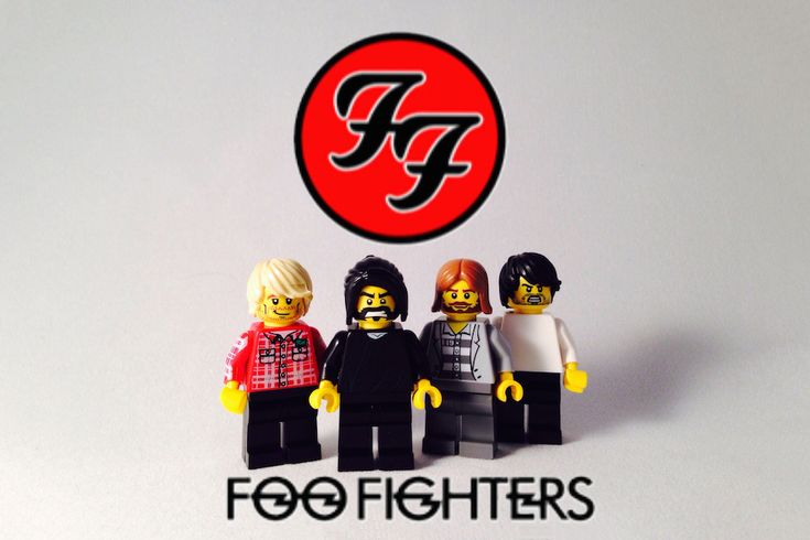 Foo Fighters | 30 Iconic Music Artists Recreated In Lego