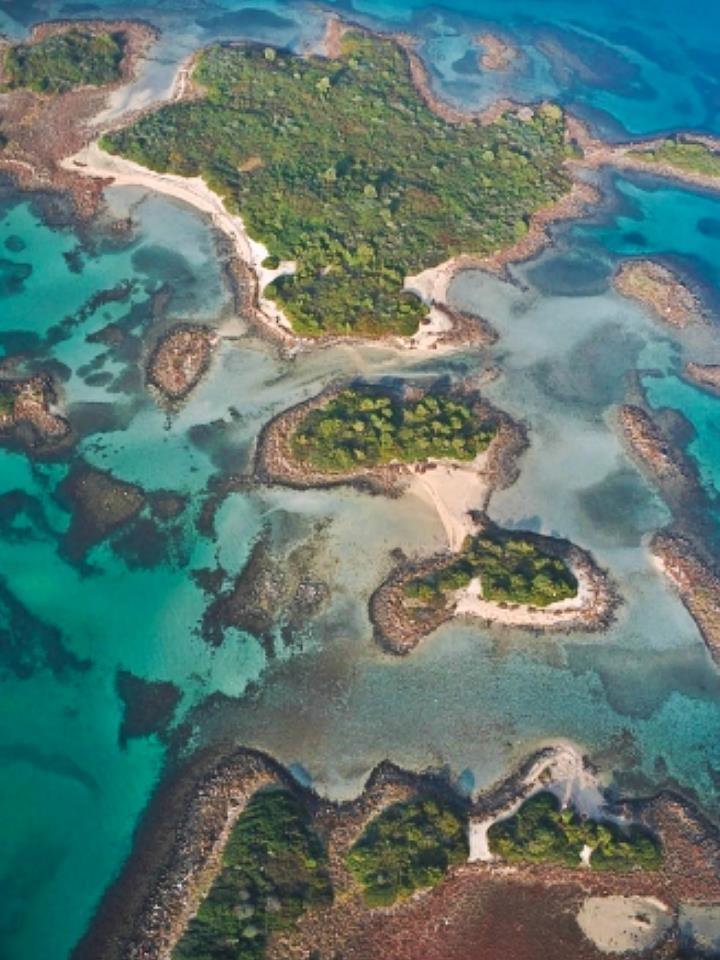 Evia island,lichadonisia,Greece