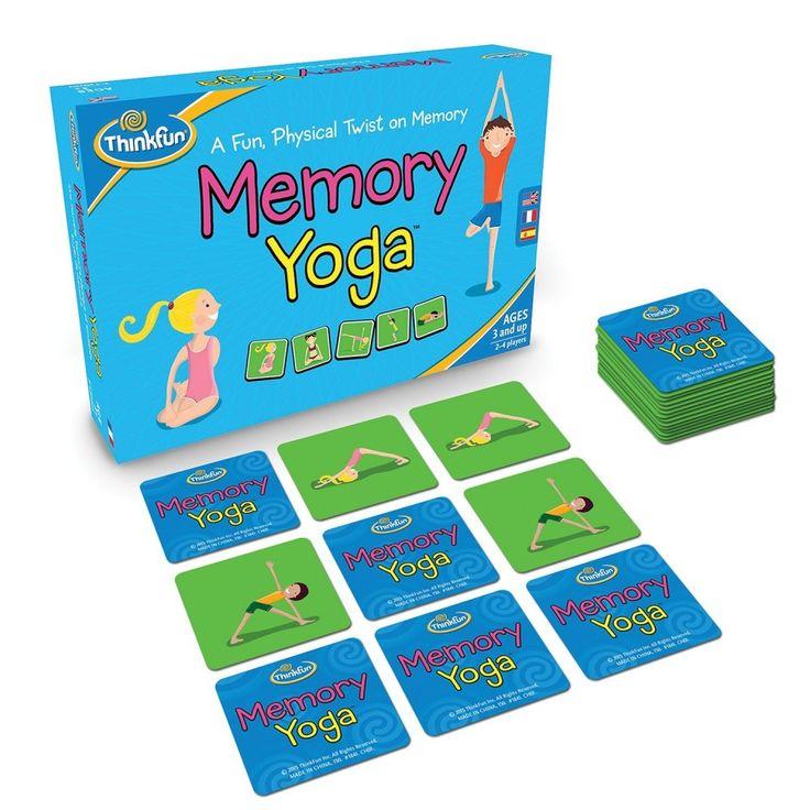 Memory Yoga, jógázós mozgásfejlesztő memória játék 3 éves kortól - ThinkFun