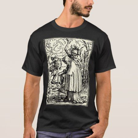 Dance of death, Dance OF macabre (getting leg) T-Shirt - tap, personalize, buy right now!