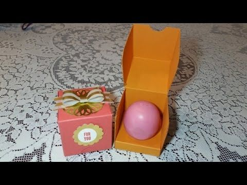 Great idea. DIY Flip top gift Box for you EOS Lip Balm. Visit my blog at mariafennelly.blogspot.com