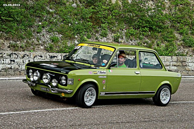 FIAT 128 Rally by marvin 345, via Flickr