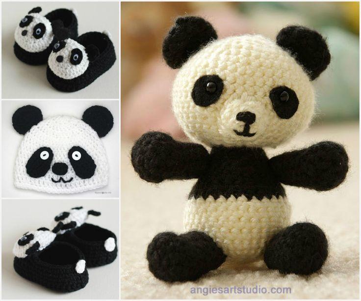 Free Crochet Baby Panda Hat Pattern : Panda Crochet Patterns The Cutest Collection Ever Free ...