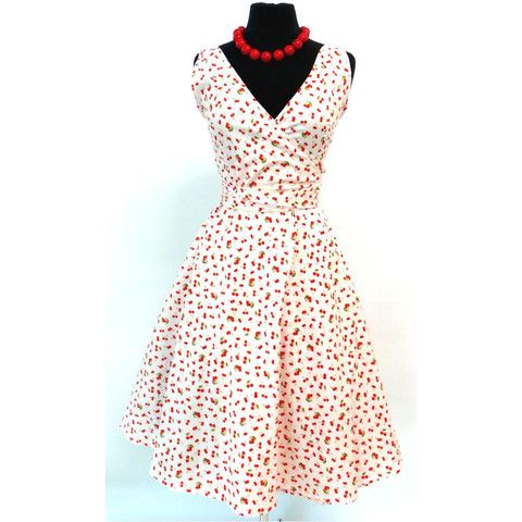 Wrap Dress Cherries #darwinnt local fashion