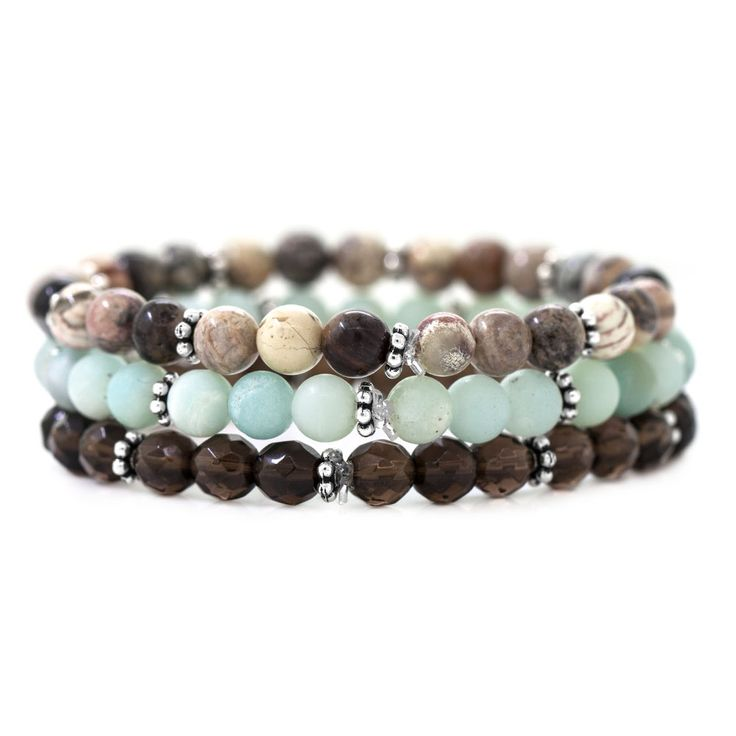 Mountain Waters Bracelets | Fusion Beads Inspiration Gallery