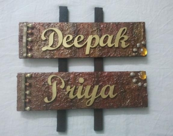 11 best Name plate images on Pinterest Clay art Murals and