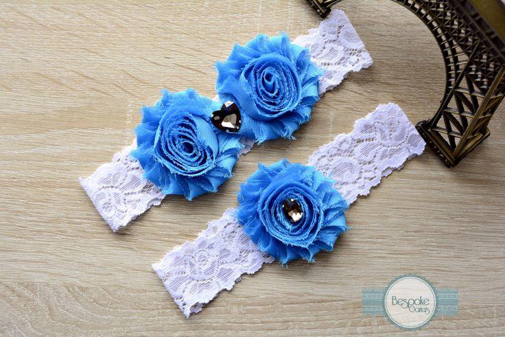 Wedding Garter - Handmade By BespokeGarters by BespokeGarters on Etsy
