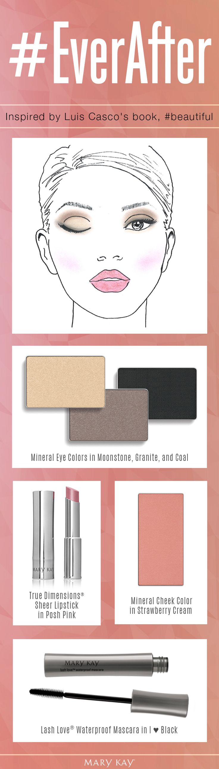 Getting ready for a date night with someone who might end up being The One? We recommend these four makeup products for a romantic, luminous look he won't forget! | Mary Kay