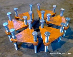 Leveling Feet For Welding Layout on a Floor