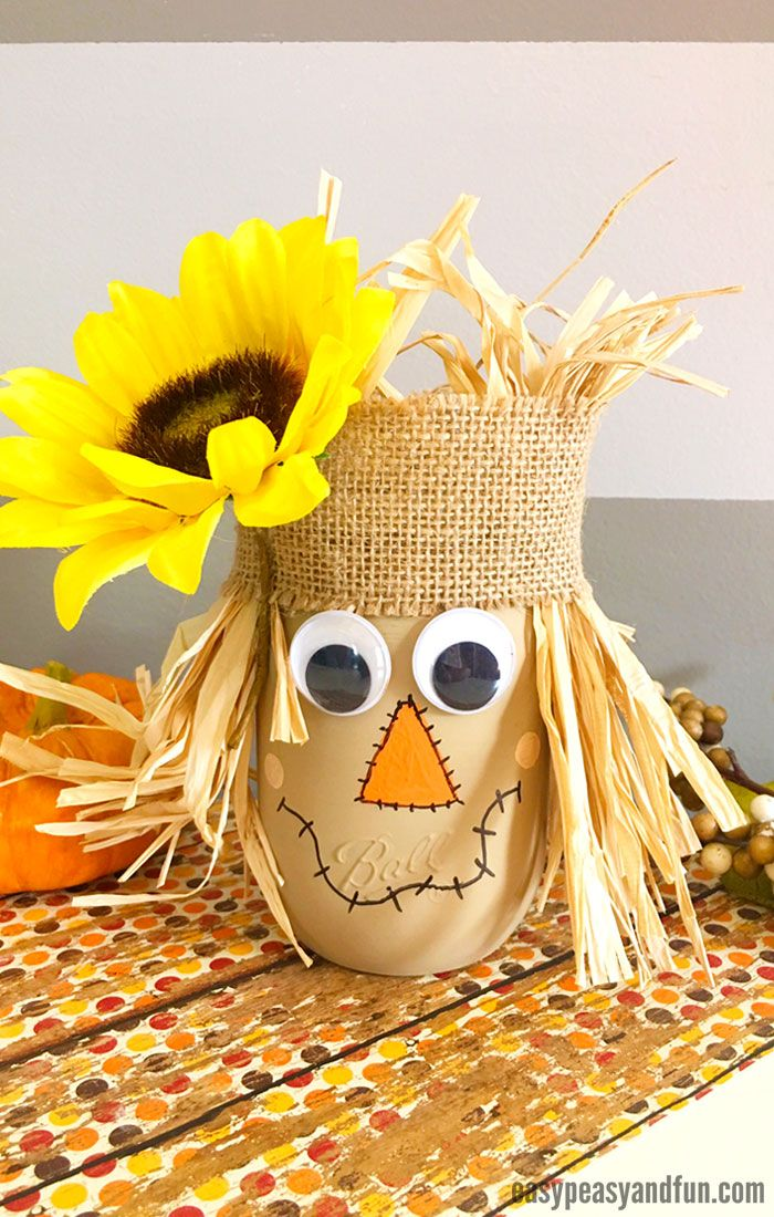 scarecrow mason jar 9578 best craft images on crafts 2876