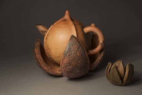 Удивительная керамика на тему природы от Alice R. Ballard