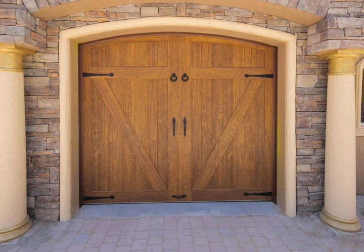 1000 images about faux wood garage doors on pinterest for Faux wood doors
