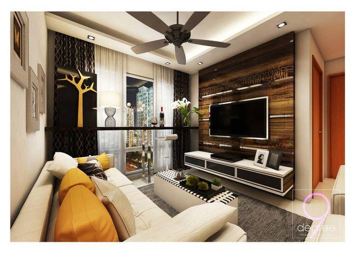 HDB Contemporary @ Trivelis Clementi - Interior Design Singapore