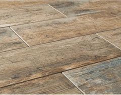 thebuilderdepot.com Wood look tiles. We have a very similar product for $2.20 a square foot. It is Redwood Natural: http://www.thebuilderdepot.com/redwnat6x24.html