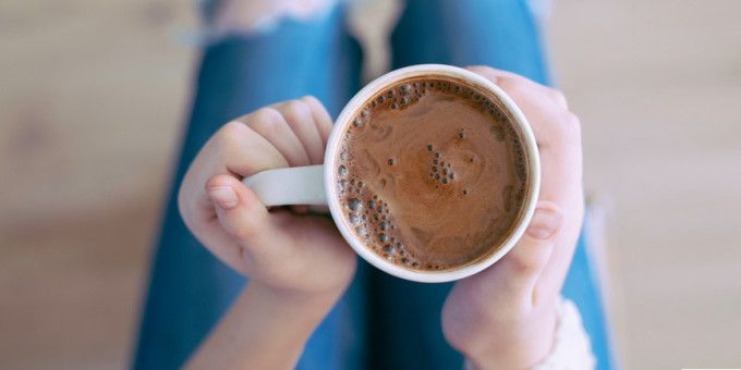 I Quit Sugar - Anti-Inflammatory Hot Chocolate recipe