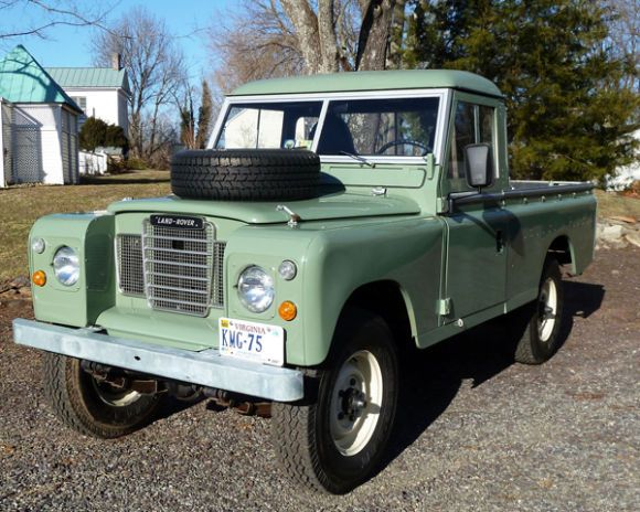 1973 Land Rover Series III 109 Pickup
