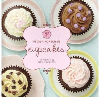 """Cupcakes, de Peggy Porschen Ya tenemos en la tienda el nuevo libro en castellano de Peggy Porschen, de nombre """"Cupcakes"""", tan dulce como un caramelo, no digo más… Más fotos del interior aquí: http://tienda.marialunarillos.com/libros/3633-cupcakes-de-peggy-porschen.html"""